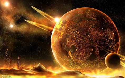 Sun Moon And Stars Images Sci Fi Planet Wallpaper 1724023 Wallpapers13 Com