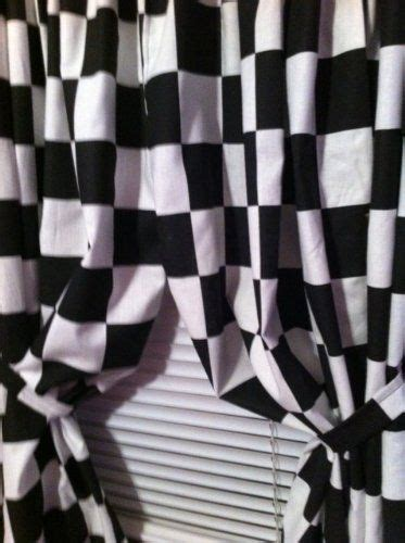Checkered Flag Window Curtains by 17 Best Ideas About Disney Cars Bedroom On