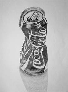 Crushed Can Drawing