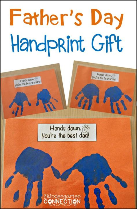 s day handprint gift the kindergarten connection 250 | Fathers Day craft 670x1024