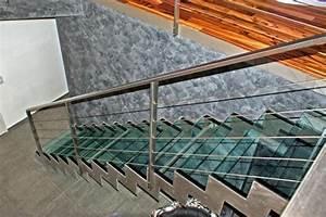 Escalier 4 Marches : marches en verre ~ Melissatoandfro.com Idées de Décoration