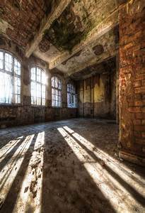 Who Designs Buildings Scenic Background Abandoned Buildings Backdrop Vintage