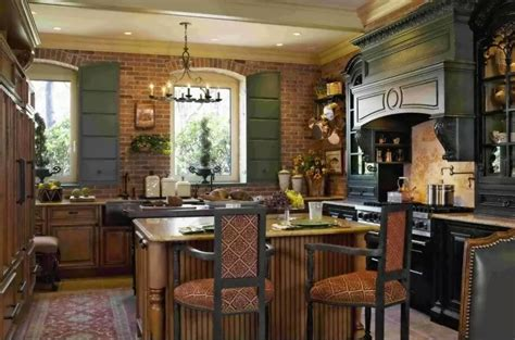 rustic style kitchen  decorative