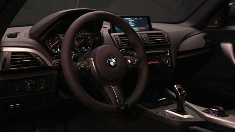 bmw  series coupe interior design youtube