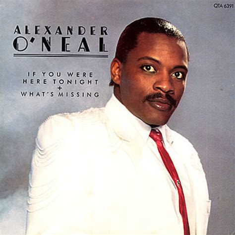 Alexander O'neal  If You Were Here Tonight Lyrics