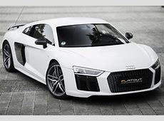Audi R8 V10 Plus CAPRISTO Weiß Flatout