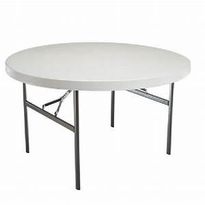 Table Pliante Ronde TOUTEVENT