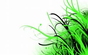 Abstract Wallpaper Green and White by PhoenixRising23 on ...