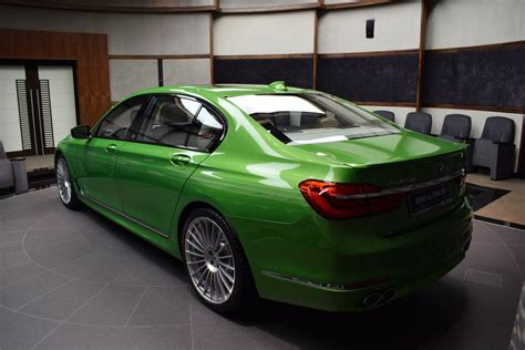 Bmw Alpina B7 In Java Green Looks Quite Different