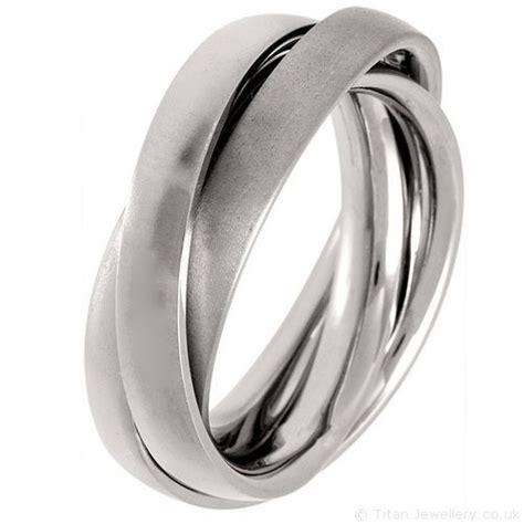 1000 ideas about titanium wedding rings on