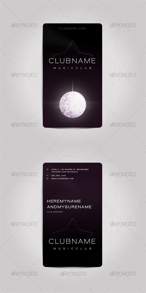 premium psd business card template