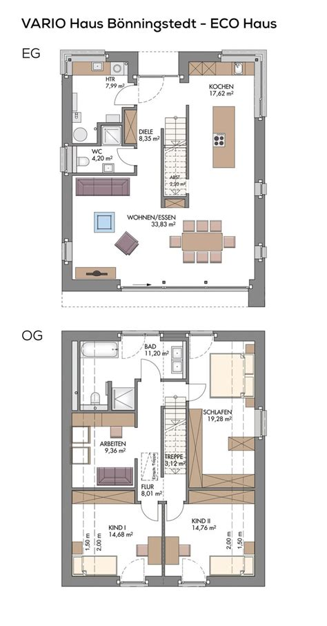 Einfamilienhaus Modern Grundriss by 207 Besten Grundriss Einfamilienhaus Bilder Auf