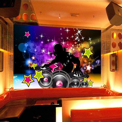 wall decor paper   dance sound bar ktv disco