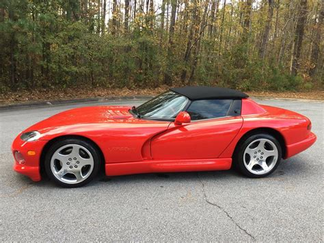 1997 Dodge Viper Rt 10 Roadster by 1997 Viper Rt 10 Roadster One Of 117 Used Dodge