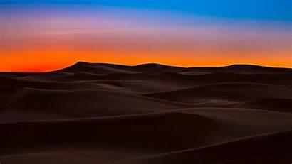 Sahara Desert Algeria Ouargla Sky Dunes Sunset