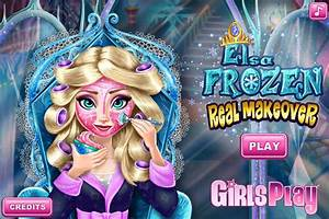 Elsa Frozen Real Makeover  Girl Games