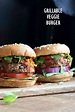 Grillable Veggie Burger - Black Bean Sunflower Seed Burger ...