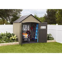 Rubbermaid Gable Storage Shed 7 X 3 by Duramax Building Products Storage Shed Common 8 Ft X 4