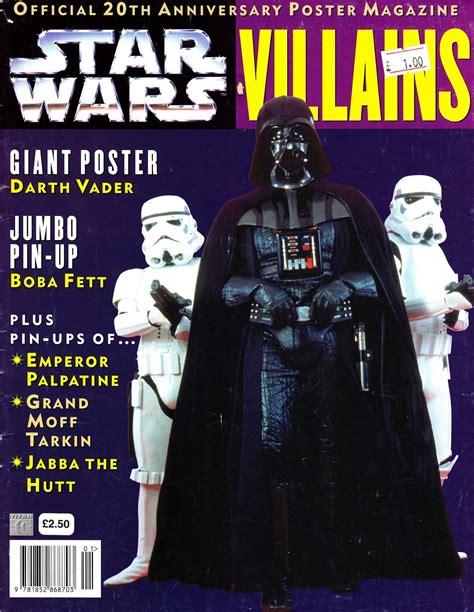 STARLOGGED - GEEK MEDIA AGAIN: 1997: STAR WARS VILLAINS ...