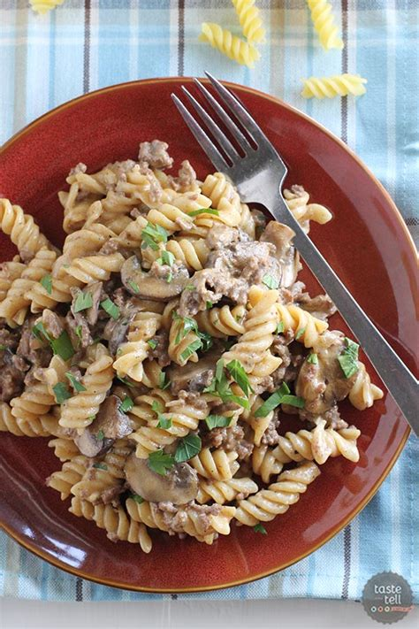 really delicious and easy to make one pot ground beef stroganoff daily cooking recipes