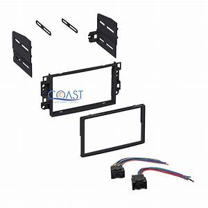 Single Double Din Car Stereo Dash Kit With Harness For 2007