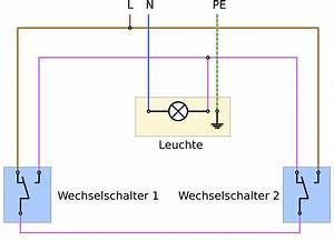 Fi Schalter Anklemmen : sparwechselschaltung elektrotechnik ~ Whattoseeinmadrid.com Haus und Dekorationen