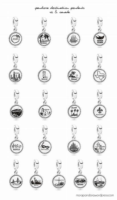 Pandora Destination Exclusive Country Moments Jewelry Unforgettable