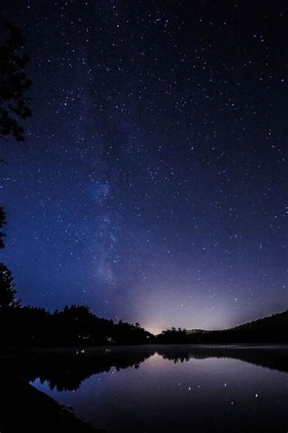 Night Milky Way Nature Stars Animated Mesmerizing