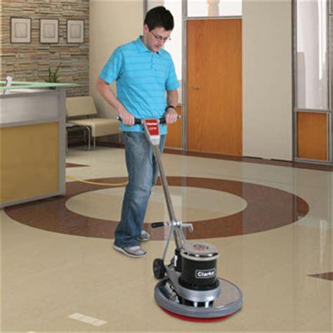 Clarke Floor Buffer Pads by Clarke Cfp 170 Floor Scrubber Machine 17 Inch Pad Unoclean
