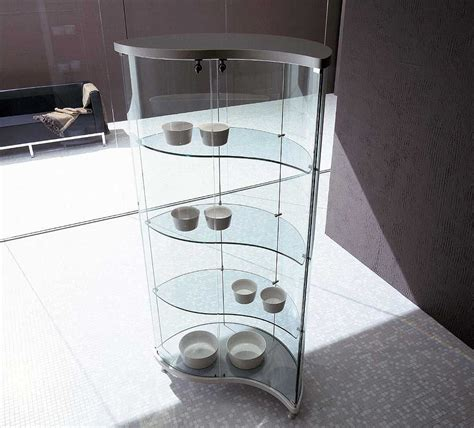Contemporary Glass Display Cabinet by Modern Curio Cabinets Glass Contemporary Curio Cabinets