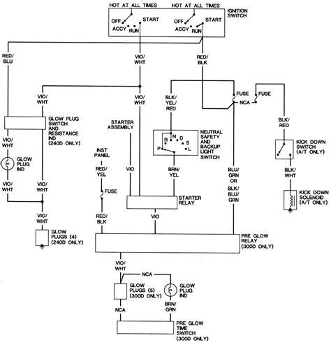 Mercede 300d Alternator Wiring by Wrg 2586 Mercedes W123 Alternator Wiring Diagram