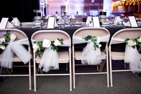 make a diy chair cover option for the wedding