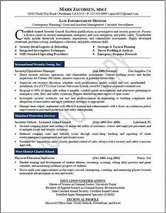 executive resume samples professional resume samples With law enforcement resume