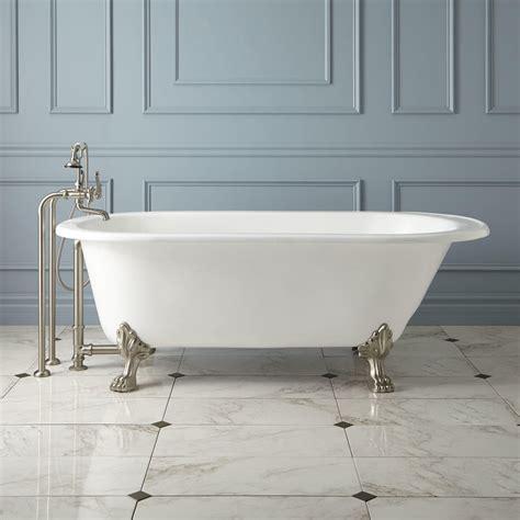 cast iron bathtub 68 quot hofburg cast iron clawfoot tub cast iron tubs