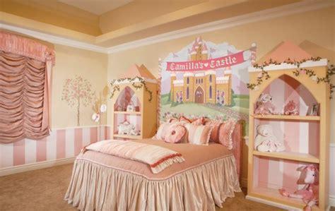 chambre de princesse pour fille idées déco chambre fille pour les petites princesses