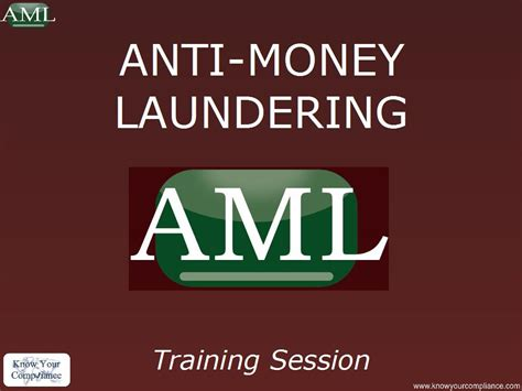 Anti Money Laundering Compliance Program Policies And Aml Policies And Procedures Manual