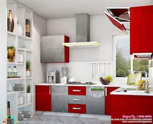 home interior design for kitchen kitchen interior works at trivandrum kerala home design and floor plans