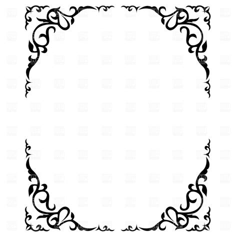 free clipart borders clipart frames and borders wedding 101 clip