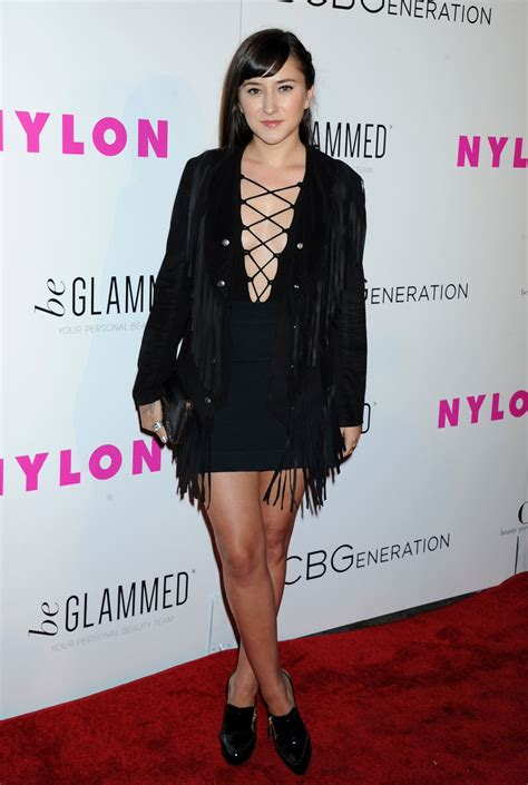 zelda williams nylon young hollywood party  west