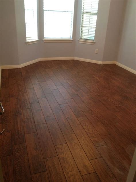 Tile That Looks Like Wood! Love The Durability  Floors