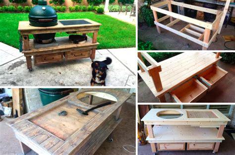 meuble cuisine tout en un fabriquer une superbe station de barbecue des idées