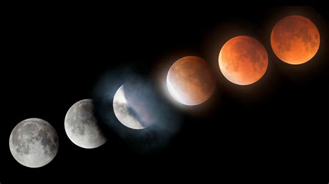 super blood moon lunar eclipse time lapse  youtube