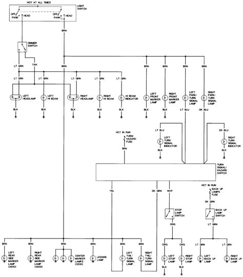 need wiring diagram for turn signals on 1972 chevy truck turn signals not working cheyenne