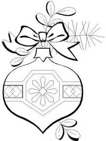 Free Printable Christmas Ornament Coloring Pages