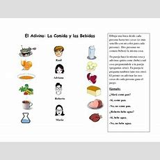 Spanish Speaking Activity With Food Vocabulary By World Language Classroom