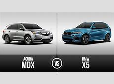 Acura MDX vs BMW X5