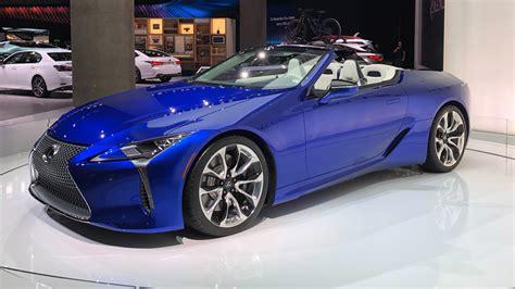 Lexus LC500 Convertible takes GT formula open-air   evo