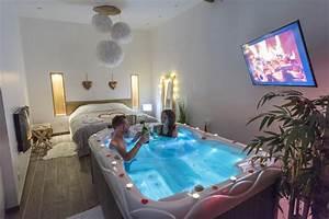 Image De Chambre : l escapade romantique chambre avec spa privatif au nord ~ Farleysfitness.com Idées de Décoration