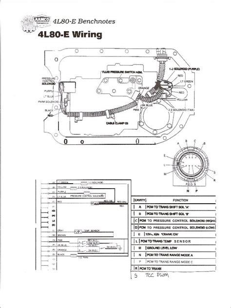 4l80e 60 Wiring Diagram by 4l80e To A 4l60e Pin Connector Pirate4x4 4x4