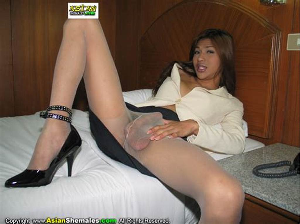 #Asian #Heshe #Pantyhose